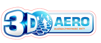 Technologia siatki 3D AERO - idealne dla walki z odleżynami